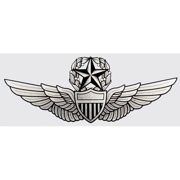 Army Master Aviator Wings Decal - Star Spangled 1776