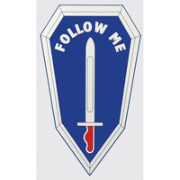 Follow Me U.S. Army Infantry Decal - Star Spangled 1776