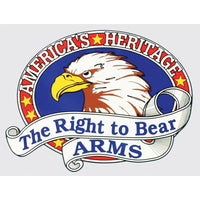 America's Heritage Right to Bear Arms Patriotic Car Window Decal