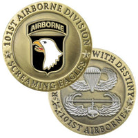 Army 101st Airborne Division Challenge Coin - Star Spangled LLC
