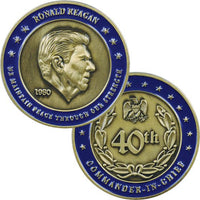 President Ronald Reagan 1.75 In Challenge Coin - Star Spangled LLC