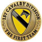 Army 1st Cavalry Division Challenge Coin - Star Spangled LLC