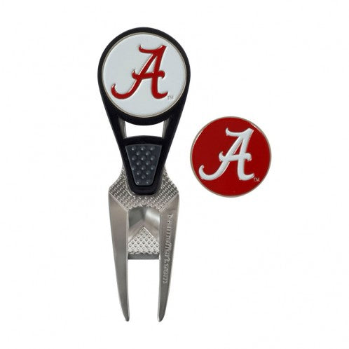 Alabama Crimson Tide NCAA Golf Mark Divot Tool Set - Star Spangled LLC