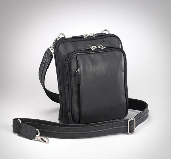 Concealed Carry Raven Shoulder Pouch- Black - Star Spangled LLC