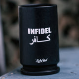 Spirit Shot Glass- 30mm A-10 Casing- Infidel - Star Spangled LLC