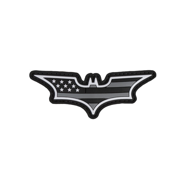 Batman Wings American Flag PVC Patch - Star Spangled LLC