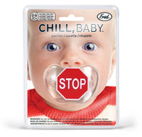 Chill Baby Stop Sign Pacifier - Star Spangled LLC