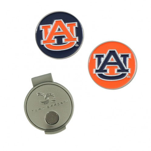 Auburn Tigers NCAA Hat Clip and Ball Marker - Star Spangled LLC