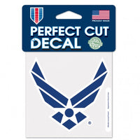 Air Force Perfect Cut Color Decal- 4 X 4 - Star Spangled LLC