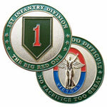 Army 1st Infantry Division Challenge Coin - Star Spangled LLC