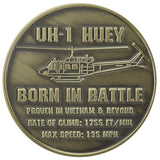 "UH-1 Huey Helicopter 1.75"" Challenge Coin - Star Spangled LLC"