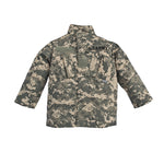 Army ACU Child Button-down Shirt Top