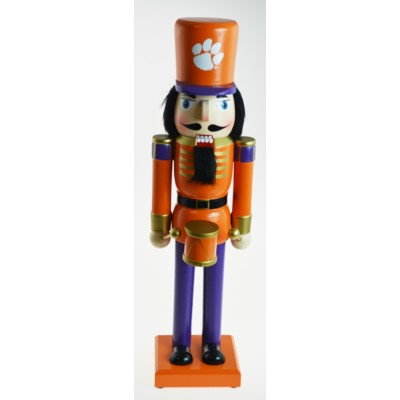 Clemson Tigers NCAA Nutcracker 14""