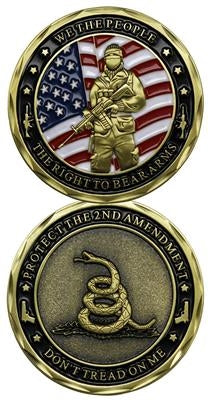 2nd Amendment Challenge Coin