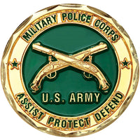 Army Military Police Commemorative Challenge Coin