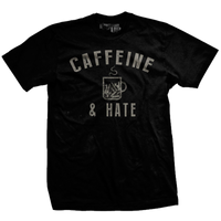 Bullets Caffeine and Hate T-Shirt- Ranger Up Men's Tee Shirt