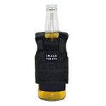 I Plead The 5th Tactical Mini Vest Can and Bottle Carrier Black