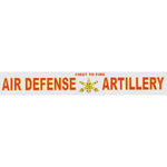 Air Defense Artillery Window Strip Decal- 14 X 2