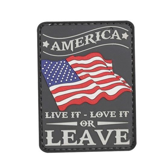 America Live It Patch PVC Morale Patch