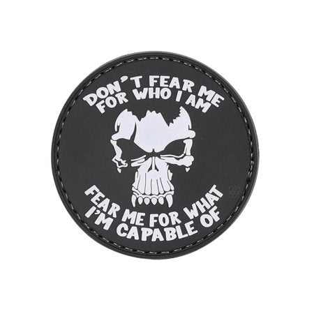 Dont Fear Me PVC Morale Patch