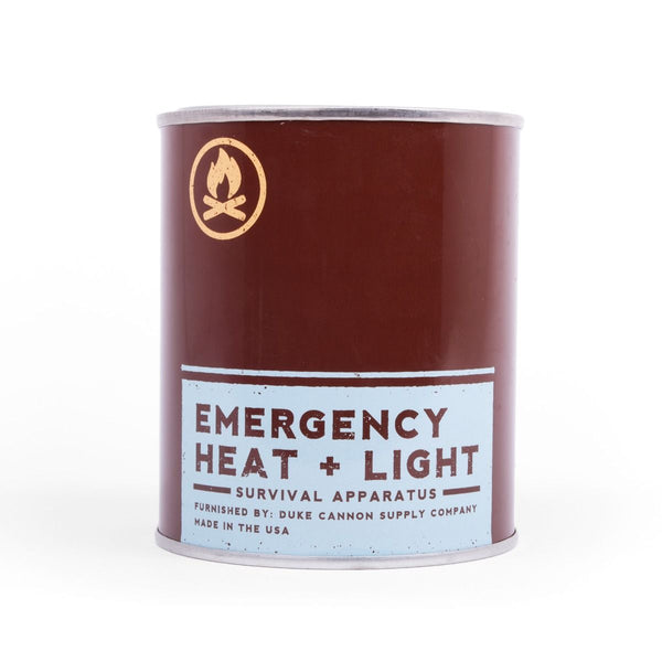 Duke Cannon Emergency Heat and Light- Leaf and Leather