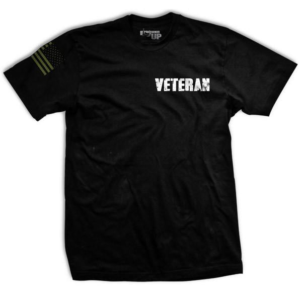 My Watch Never Ends T-Shirt- Ranger Up Military Men's Black Tee Shirt