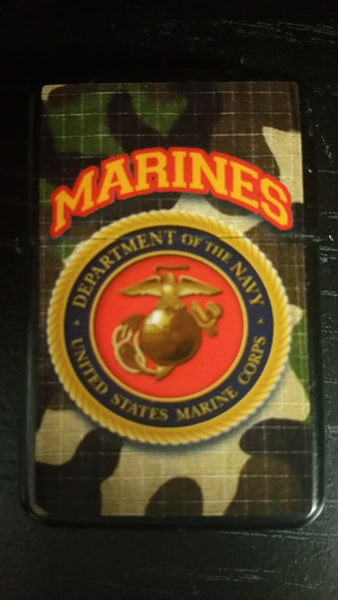 Marine Corps Windproof Novelty Lighter - Star Spangled 1776