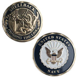 U.S. Navy Shellback Challenge Coin