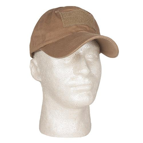 Military Tactical Cap with Hook & Loop Patch Mounting