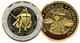 Armor of God Soldier Challenge Coin - Star Spangled LLC