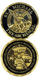 Saint Michael Infantry Challenge Coin - Star Spangled LLC