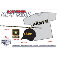 Army Grey T-Shirt & Black Baseball Cap Gift Pack