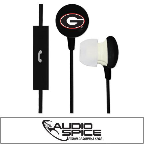 Georgia Bulldogs NCAA Football Ignition Earbuds Plus Mic