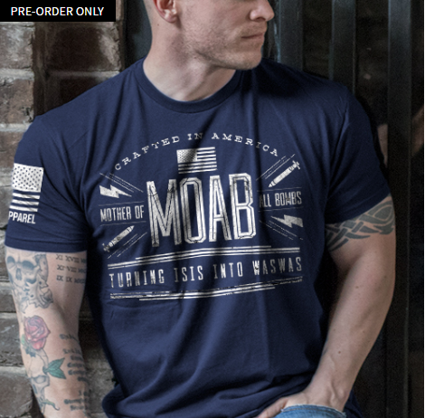 MOAB T-Shirt- Nine Line Mens Black Tee shirt