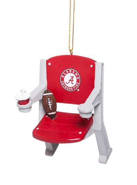 Alabama Crimson Tide NCAA Stadium Chair Ornament - Star Spangled LLC