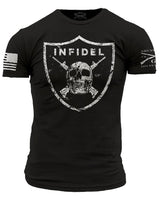 Infidel T-Shirt- Grunt Style Men's Graphic Military Tee Shirt