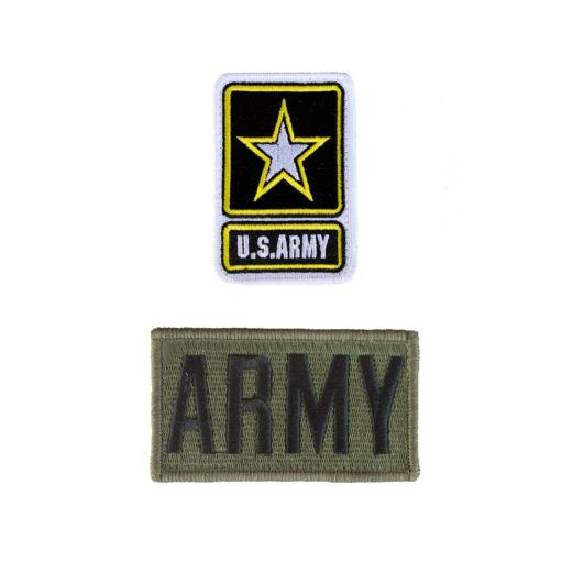2 Pack Patch Set For Flight Suit ARMY