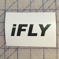 iFLY Decal Black