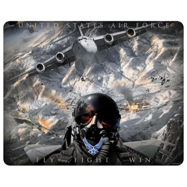 Air Force (Fly Fight Win) Exclusive Military Art Full Color Mouse Pad