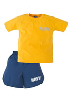 Navy 2 Piece PT Youth Short Set - Star Spangled 1776