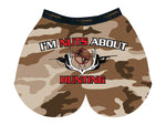 I'm Nuts About Hunting Boxer- MySack Cotton Blend Boxer
