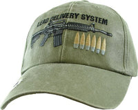 Lead Delivery System OD Military Baseball Cap - Star Spangled 1776