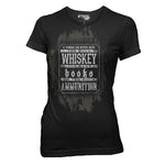 Books, Whiskey, & Ammo T-Shirt- Ranger Up Women's Tee Shirt - Star Spangled LLC