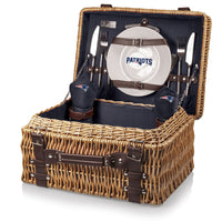 New England Patriots Champion Picnic Basket- Navy
