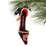Auburn Tigers NCAA High Heel Shoe Ornament