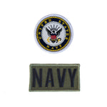 2 Pack Patch Set For Flight Suit NAVY