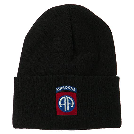 82nd Airborne Division Logo Embroidered Watch Cap