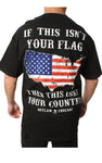 American Honor T-Shirt- Outlaw Threadz Men's Tee Shirt Black