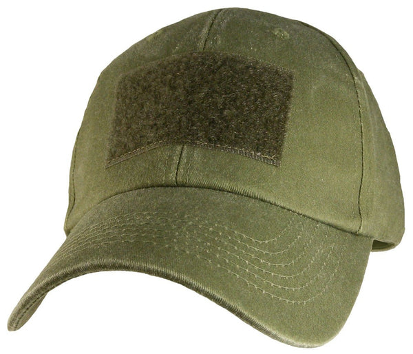 OD Green Hook and Loop Patch Military Baseball Cap - Star Spangled 1776