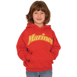 Marines Youth Hoodie Sweatshirt - Star Spangled 1776